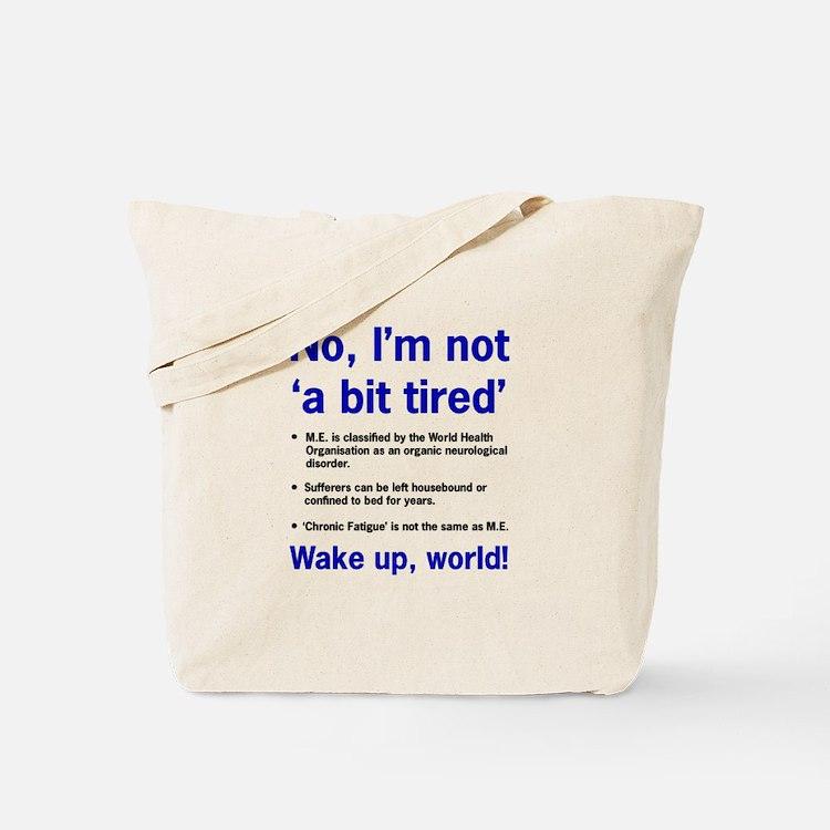 ME Awareness Tote Bag