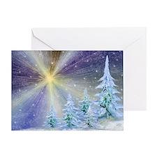 Blazing Star Greeting Card