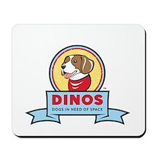DINOS Logo Mousepad