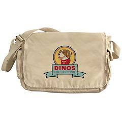 DINOS Logo Messenger Bag