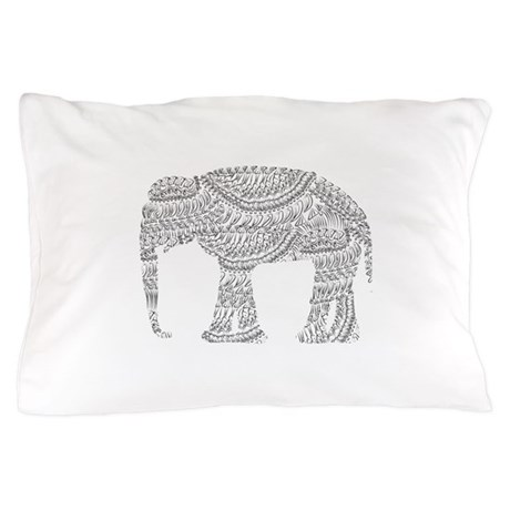Eclectic Pillow Cases : Eclectic Elephant Pillow Case by zoeticliving