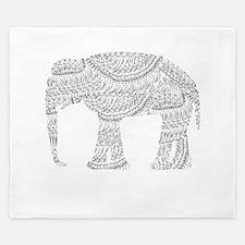 Eclectic Elephant King Duvet