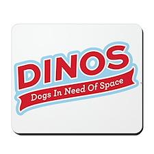 Team DINOS Logo Mousepad