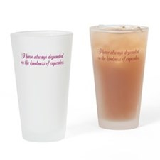 A Streetcar Named Desire Drinking Glass
