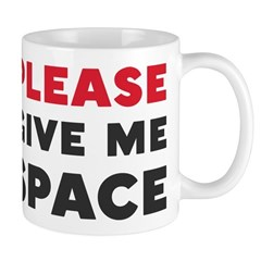 Please Give Me Space Mug