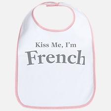 Kiss Me, I'm French Bib