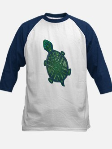 Celtic Knotwork Turtle Kids Jersey