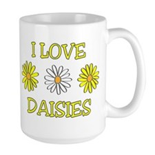 I Love Daisies - Daisy Flower Mug