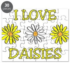 I Love Daisies - Daisy Flower Puzzle