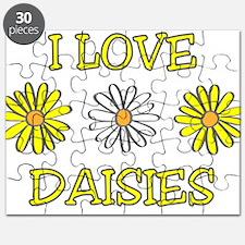 I Love Daisies - Daisy Flower Puzzle