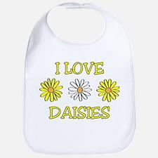 I Love Daisies - Daisy Flower Bib
