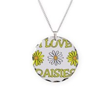 I Love Daisies - Daisy Flower Necklace