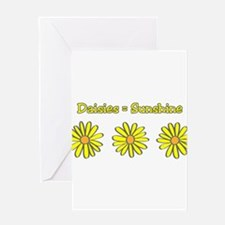 Daisies equal Sunshine! Greeting Card