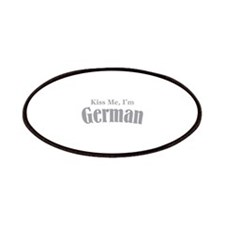 Kiss Me, I'm German Patches