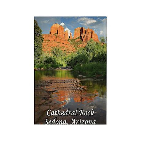 Cathedral Rock, Sedona, AZ Rectangle Magnet