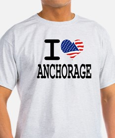 I LOVE ANCHORAGE T-Shirt