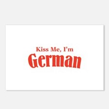 Kiss Me, I'm German Postcards (Package of 8)