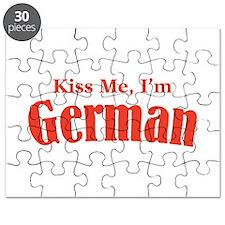 Kiss Me, I'm German Puzzle