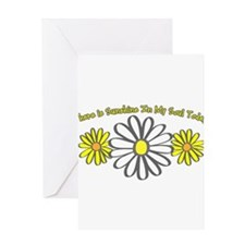 There is Sunshine in My Soul Greeting Card