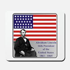Lincoln Mousepad