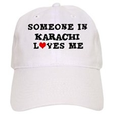 Someone in Karachi Baseball Cap