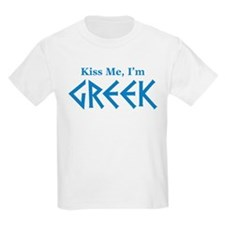 Kiss Me, I'm Greek T-Shirt