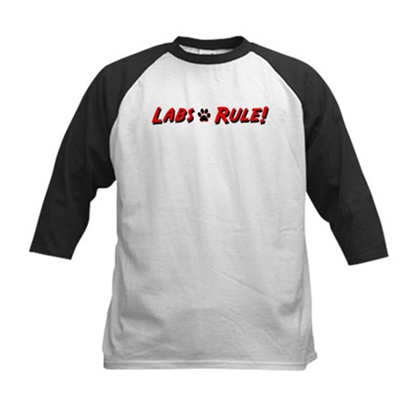 Labs Rule Kids Baseball Jersey