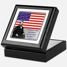 Lincoln Keepsake Box