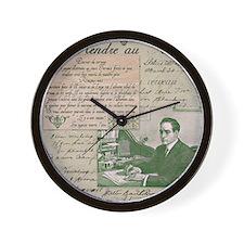 Dashing Edwardian Man Wall Clock