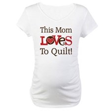 Mom Loves To Quilt Shirt