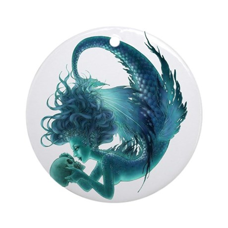 A Kiss of Death Ornament (Round)