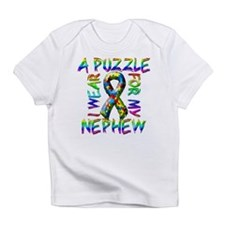 I Wear A Puzzle for my Nephew Infant T-Shirt