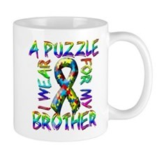 I Wear A Puzzle for my Brothe Mug
