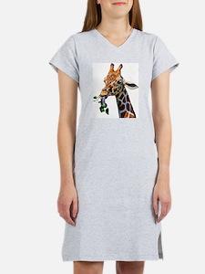 Unique Giraffe Women's Nightshirt