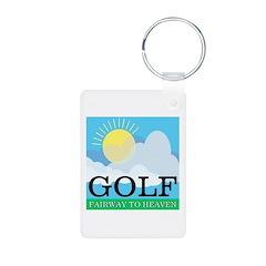 Golf Fairway to Heaven Keychains