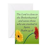 Biblical Scripture Sympathy Card