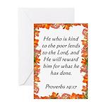 Biblical Scripture Greeting Card