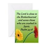 Biblical Scripture Sympathy Cards (Pk of 10)
