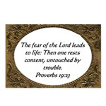 Biblical Scripture Postcards (Package of 8)