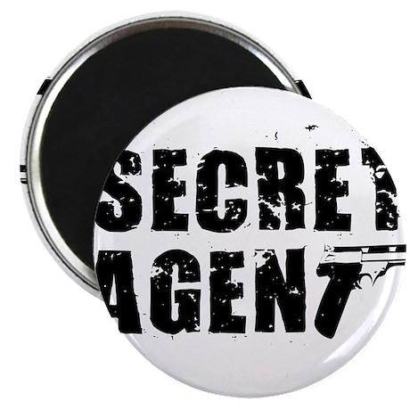SECRET AGENT SHIRT TEE KIDS S Magnet