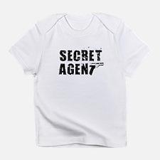 SECRET AGENT SHIRT TEE KIDS S Infant T-Shirt