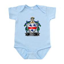 MILLER COAT OF ARMS Infant Bodysuit