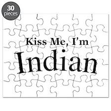 Kiss Me, I'm Indian Puzzle