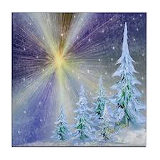 Blazing Star Tile Coaster