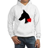 Doberman Hooded Sweatshirt