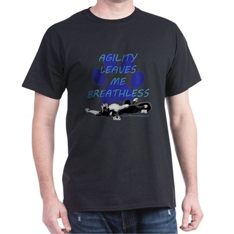 Agility Leaves Me Breathless Dark T-Shirt