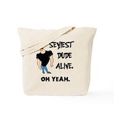'Johnny Bravo' Tote Bag