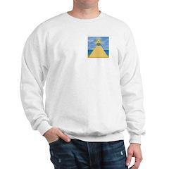 The pyramid, eye and S&C Sweatshirt