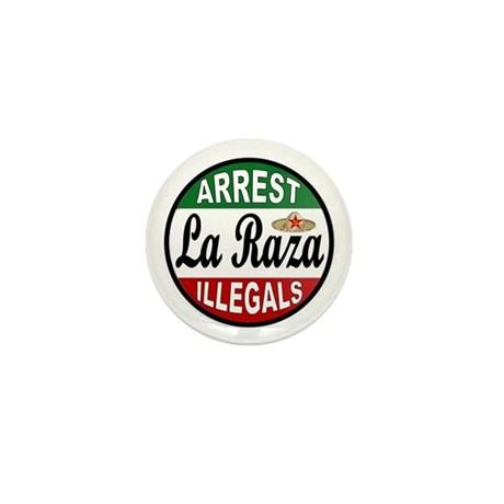 DEPORT ILLEGALS Mini Button (10 pack)