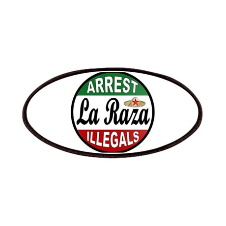 DEPORT ILLEGALS Patches